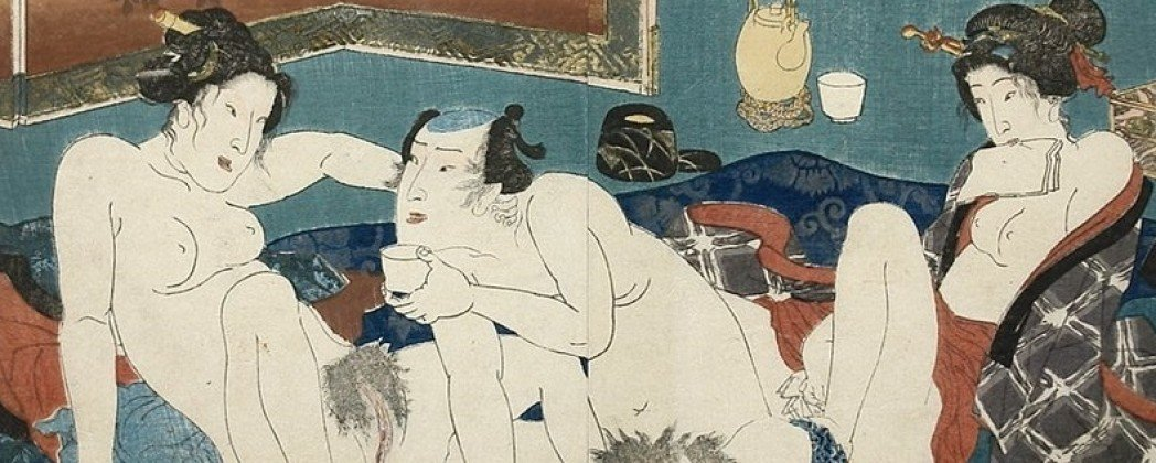 Bedroom Guide to Spring Scenes by Utagawa Kunisada and Keisai Eisen