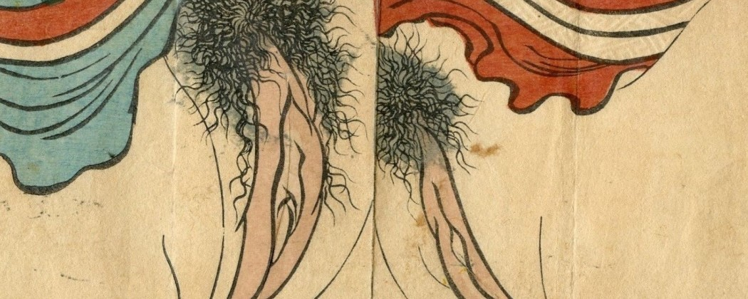 Mesmerizing Vagina Close-up Designs as Portrayed in Japanese Shunga