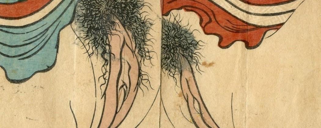 Mesmerizing Vagina Close-up Designs as Portrayed in Japanese Shunga
