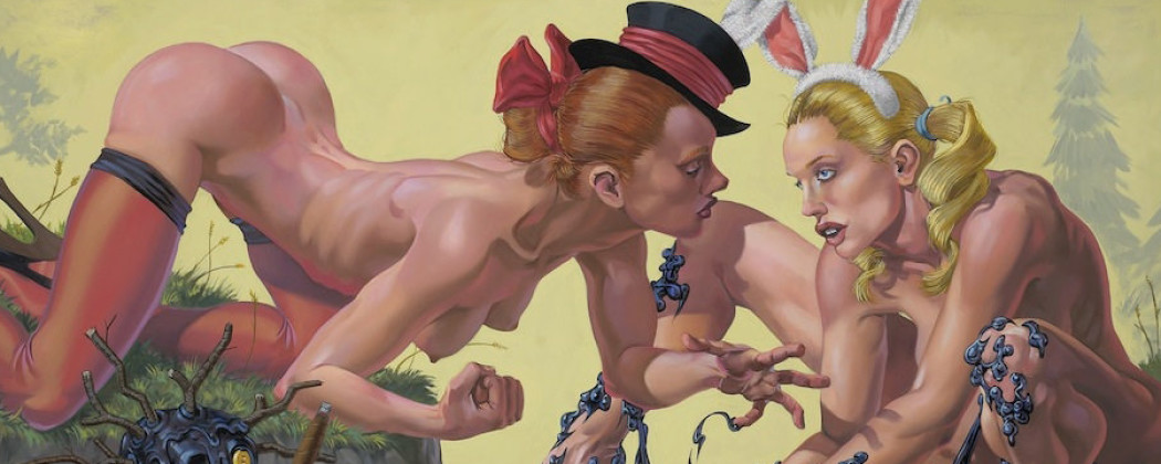 The Harsh Sensuality of the Amazing Pop Surrealist Van Arno