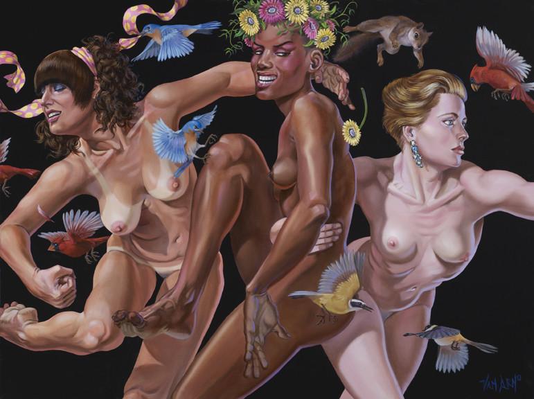 van arno nude dancing females