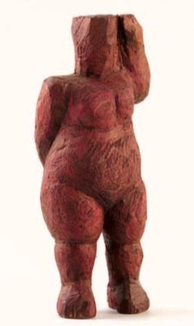 Vasko Lipovac corpulent female nude