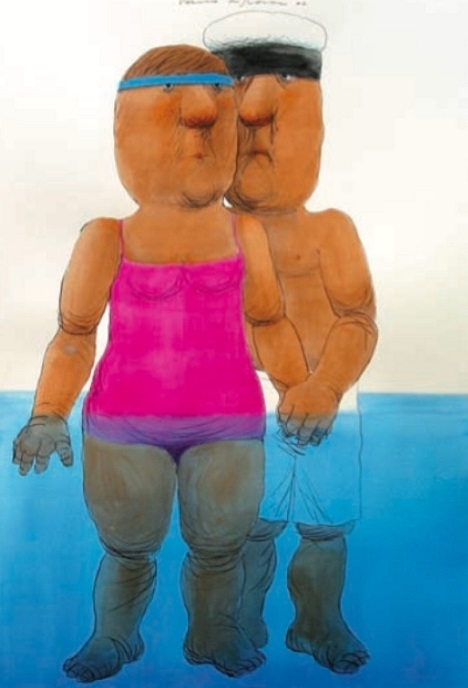 Vasko Lipovac couple in the water