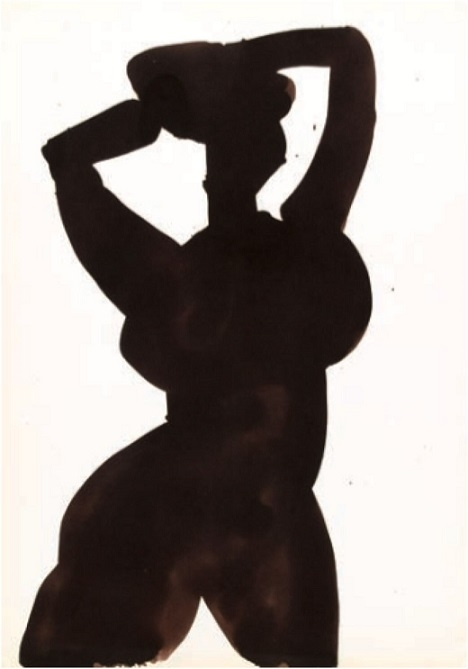 Vasko Lipovac silhouette art