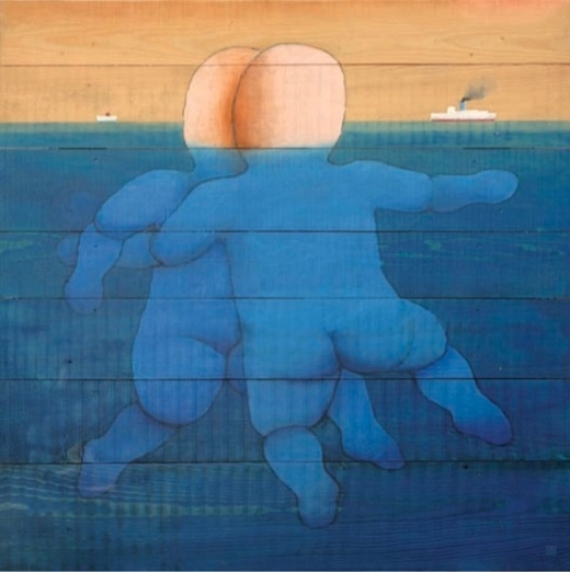 Vasko Lipovac swimming nudes