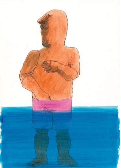 Vasko Lipovac swimming trunks