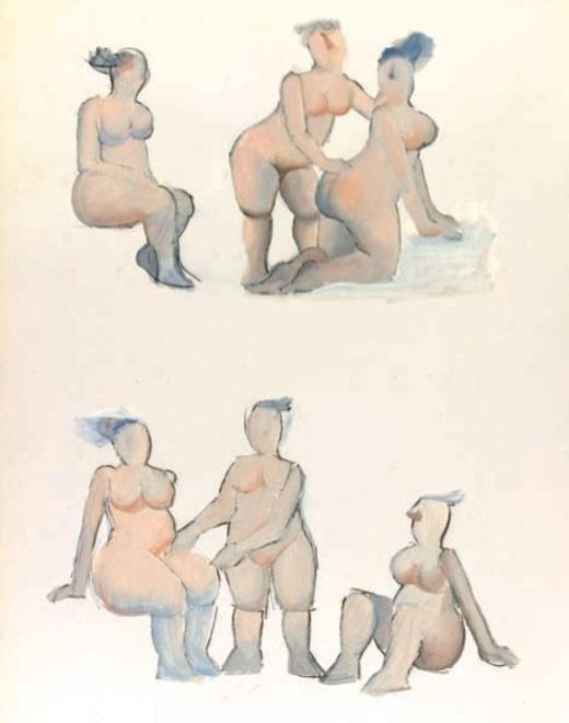 Vasko Lipovac two intimate threesomes