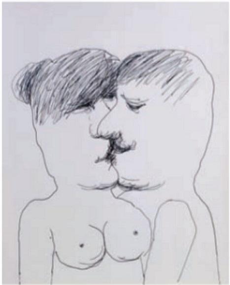 Vasko Lipovac kissing