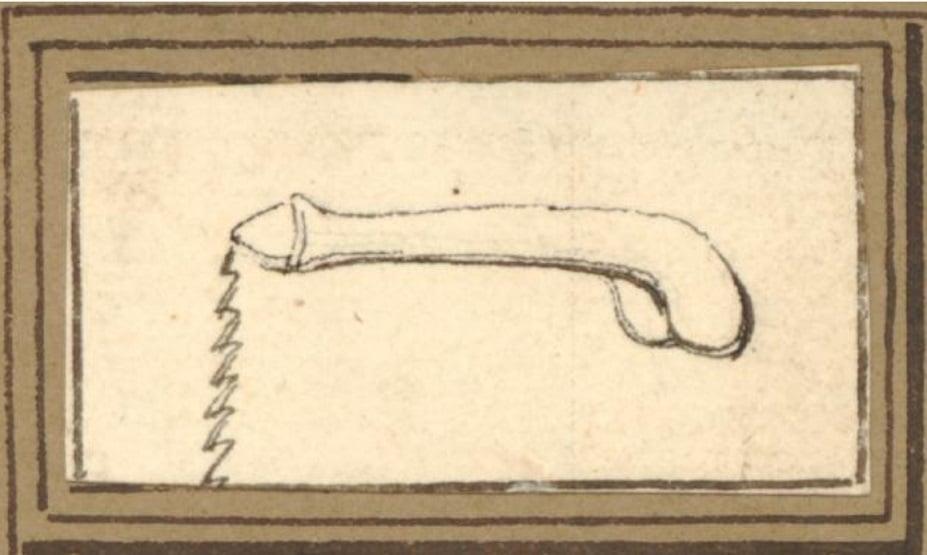 vivant denon Phallus' depiction
