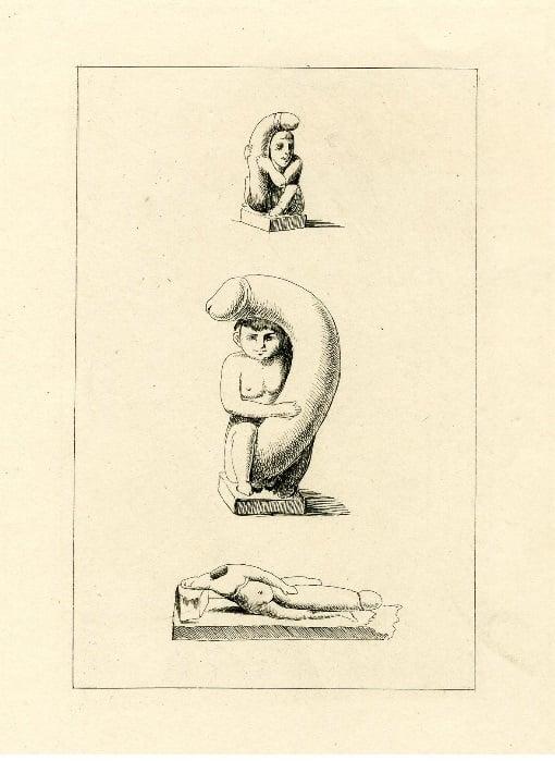 vivant denon Priapic statues