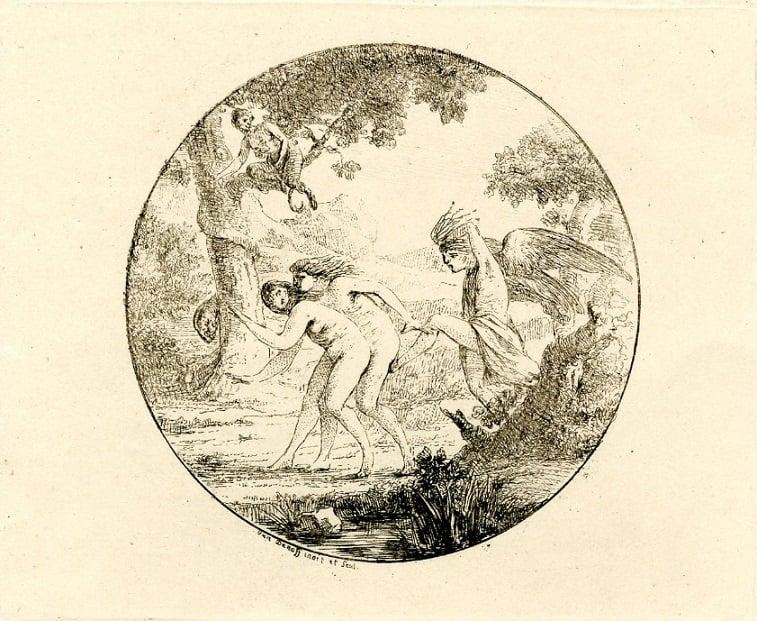 vivant denon The expulsion from Eden