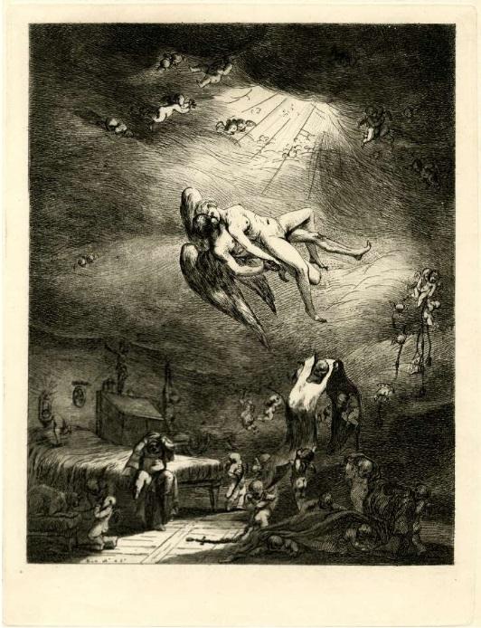 vivant denon The nun's dream of a naked woman