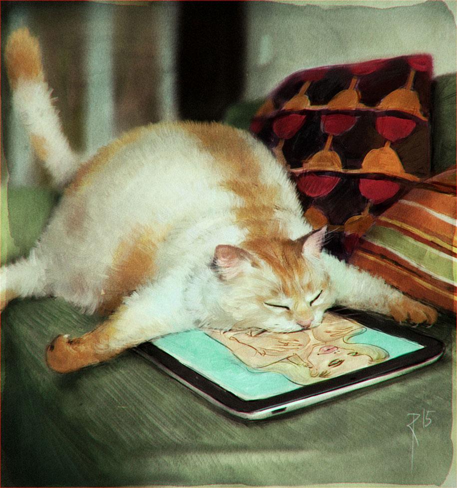 waldemar kazak cat