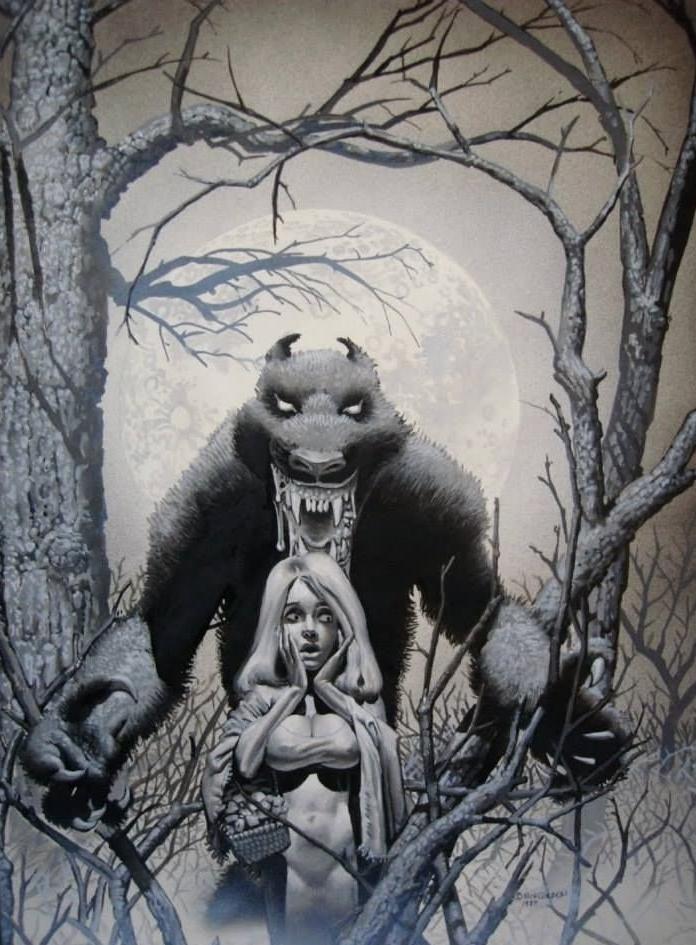 werewolf cover corben