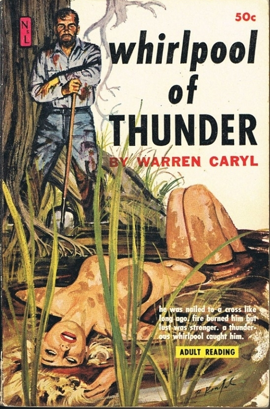 Whirlpool of Thunder pulp cover