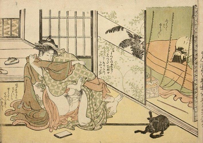 Deceived husband by Kitao Masanobu