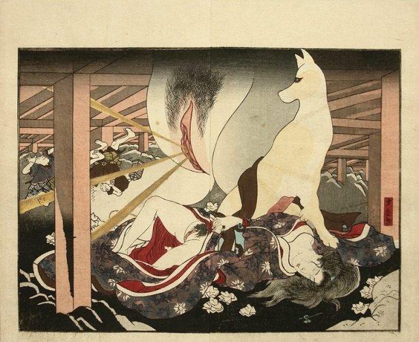 Fox Spirit by Utagawa Kunisada