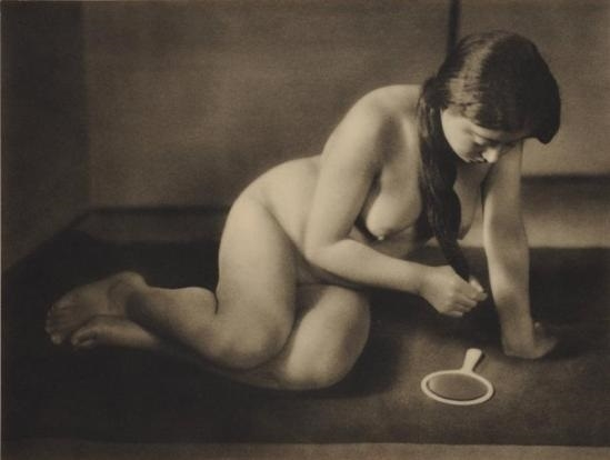 Yasuzō Nojima nude mirror