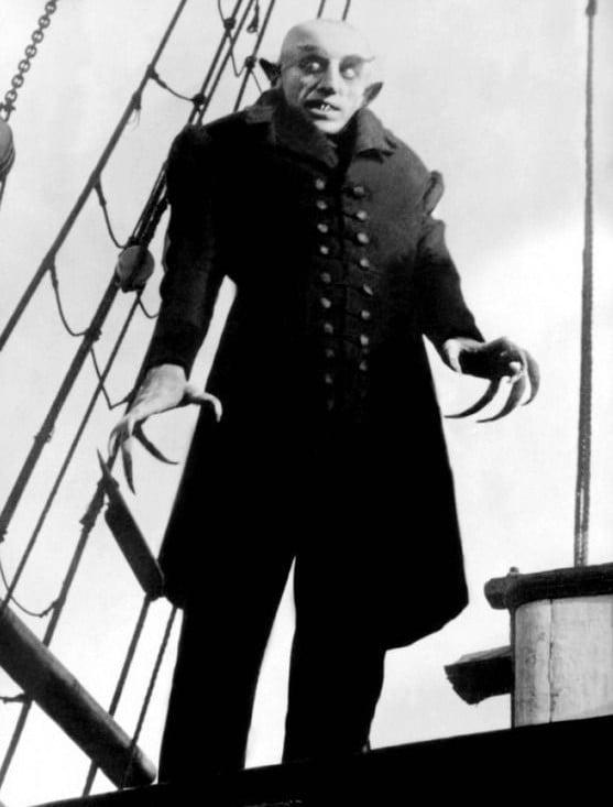 Suehiro Maruo: Max Schreck in F.W. Murnau's Nosferatu (1922)