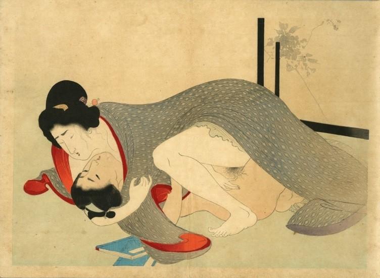 Yakumo no chigiri: female on top