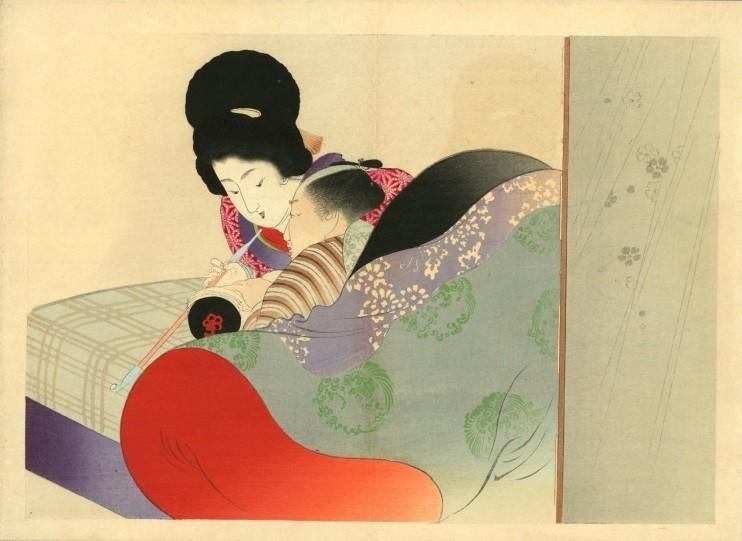 Yakumo no chigiri: kiseru smoking couple
