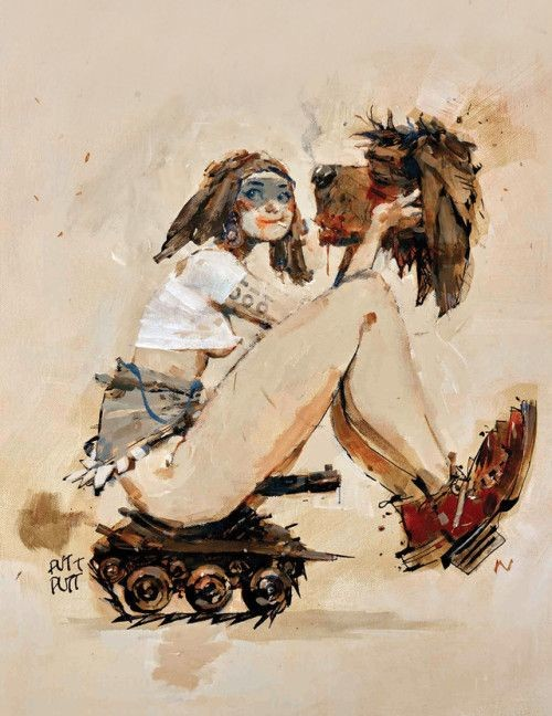 Ashley Wood's Tank Girl