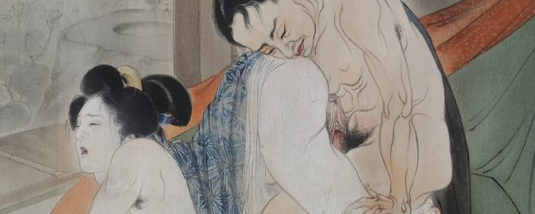 If Takeuchi Seiho Had Produced Shunga They Would Have Looked Like This