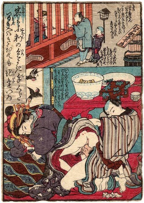 Yoshiwara brothel: Pleasure house in Edo machi Itchome