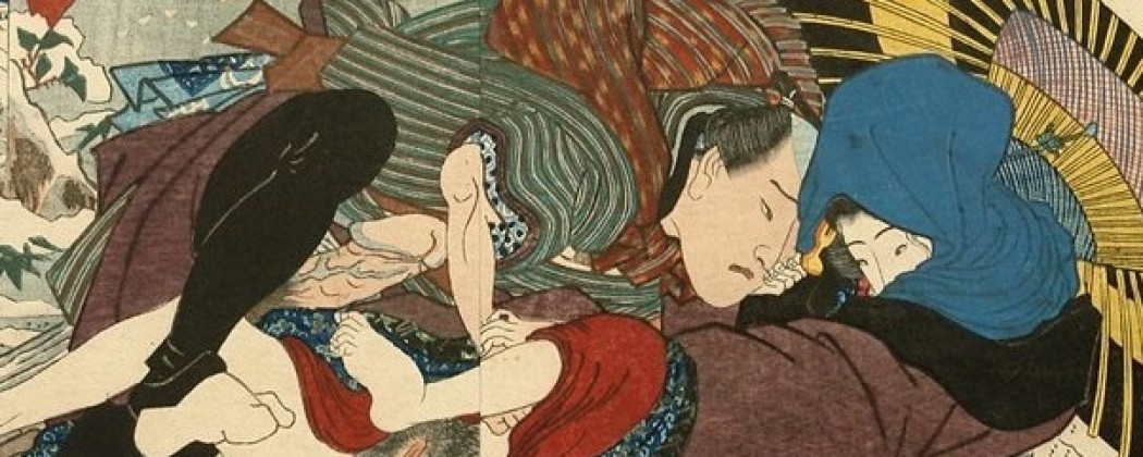 Enchanting Shunga Images With a Touch of Winter Magic (P1)
