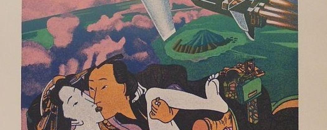 Gudmundur Erró: Thunderbirds Meets Shunga