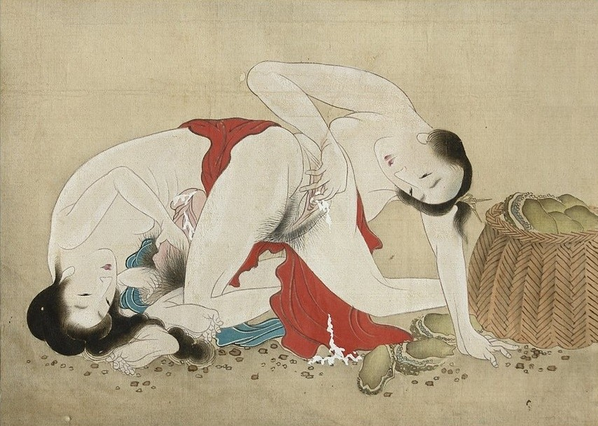 dream of the fisherman's wife: painting after Shigenobu
