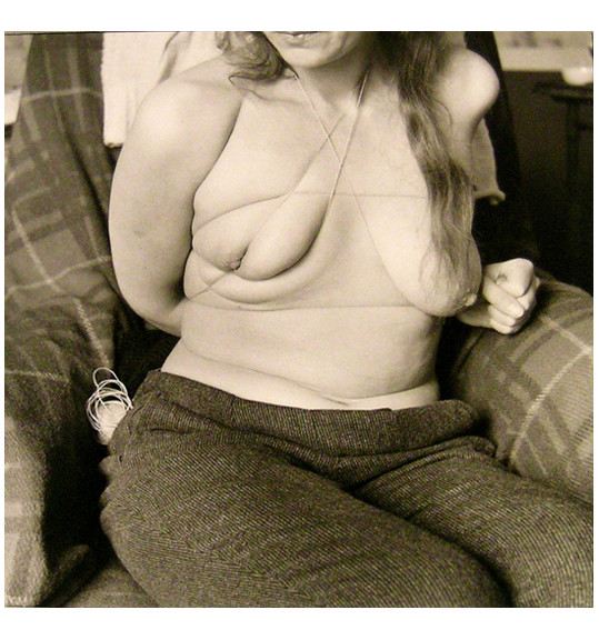 Hans Bellmer picture with bound female