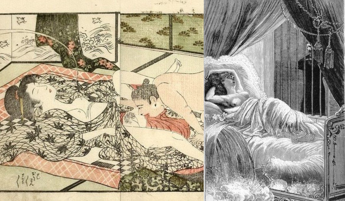 max ernst collage: maiden dreaming about demons by Shuncho
