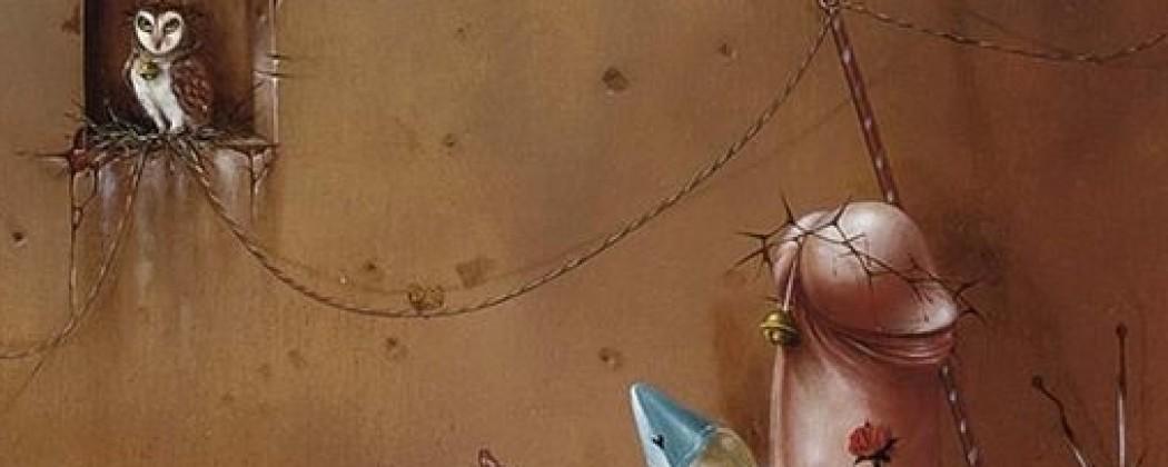 The Phallic Universe of the Dutch Surrealist Artist Hans Kanters