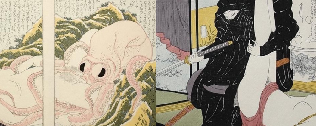Exciting Video on the Remaking of Hokusai's Iconic Shunga