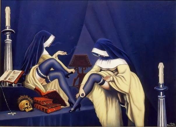 Camille Clovis Trouille 'Dialogue au Carmel (1944)