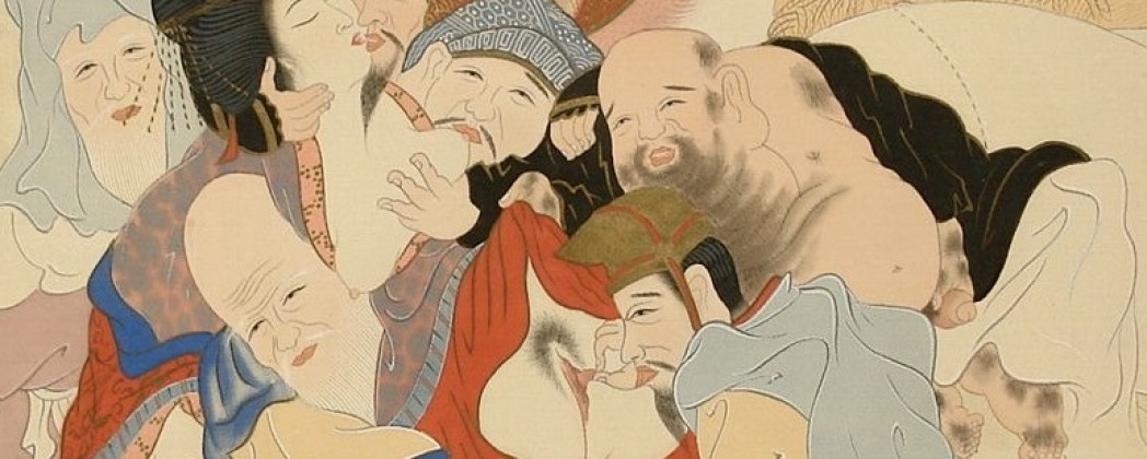 The Seven Lucky Gods Involved in a Sex Orgy