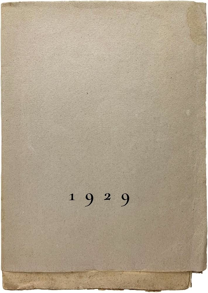 Aragon, Peret, and Man Ray 1929: The cover of the first edition