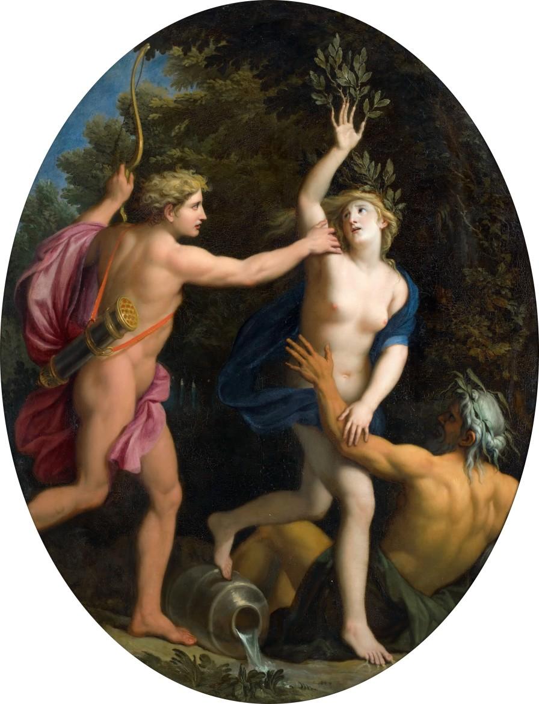 Arborophilia: 'Apollo and Daphne' by Rene-Antoine Houasse (1677)