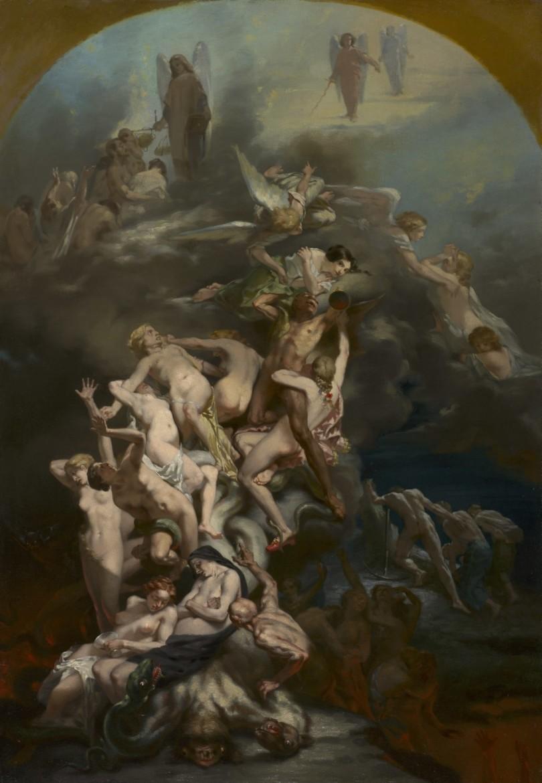 Octave Tassaert: Heaven and Hell