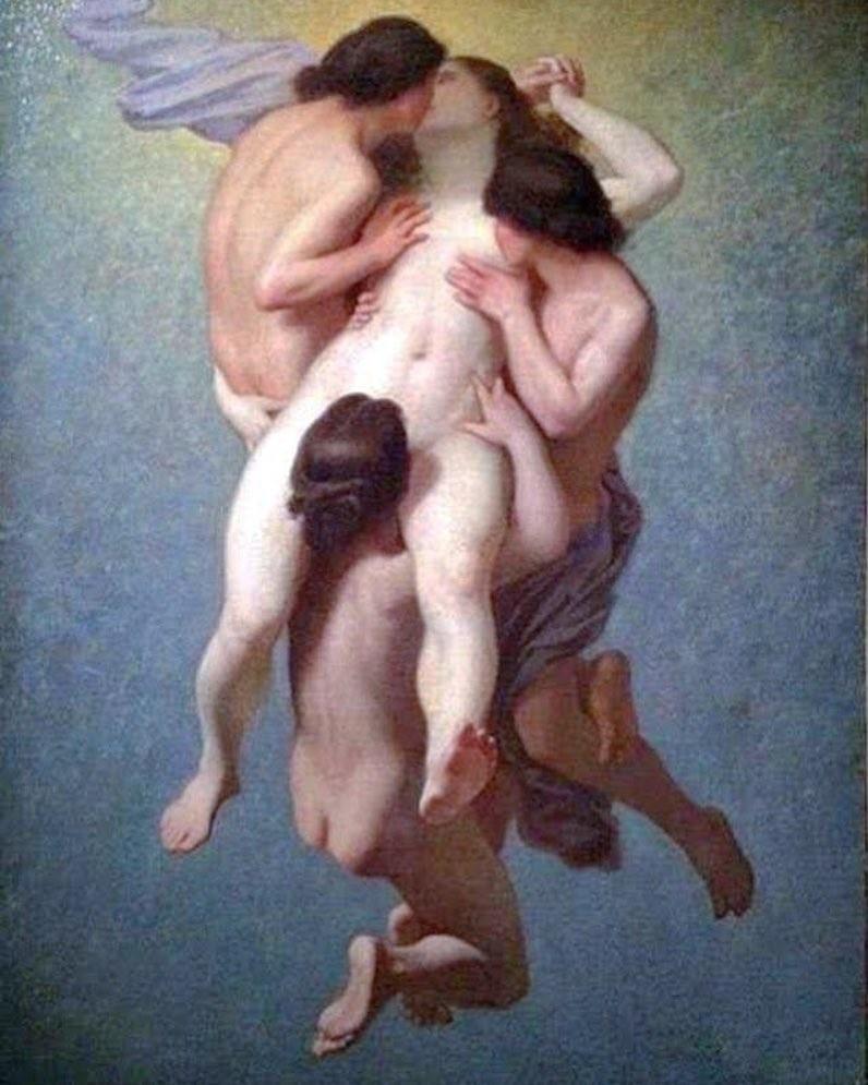 Octave Tassaert: 'The Cursed Woman' (1859)