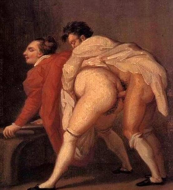 Octave Tassaert: untitled erotic painting