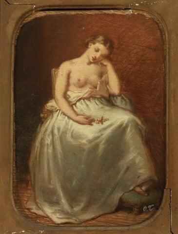 'After the Ball' (1840s) by Octave Tassaert