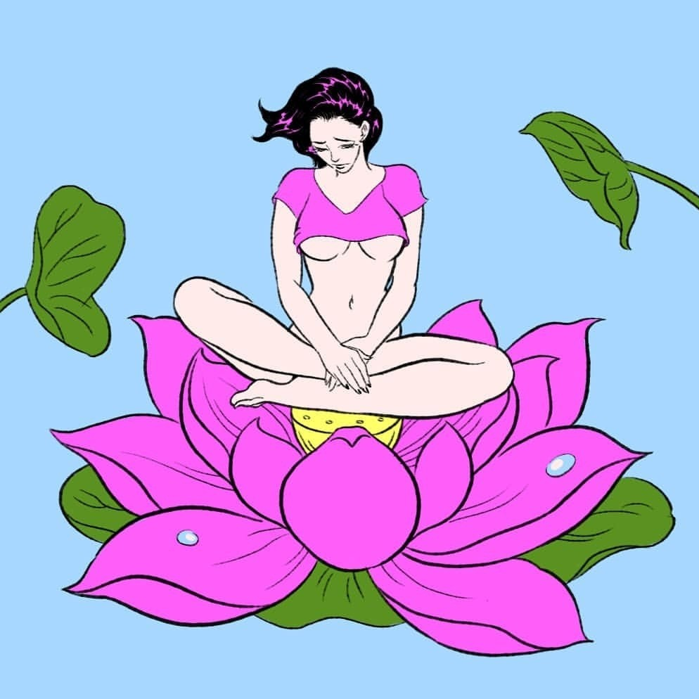 Lotus lady by Pigo Lin