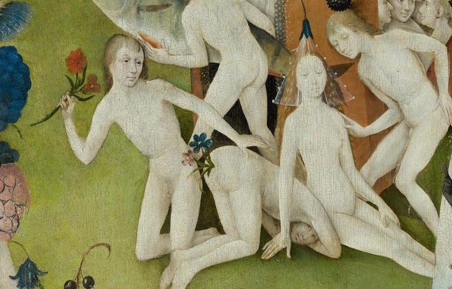 he Garden of Earthly Delights flowers in anus