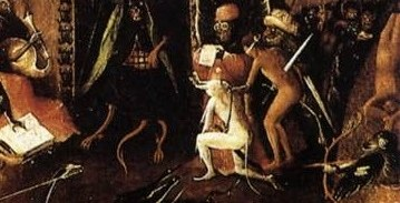 Bosch The Last Judgement sword through the body