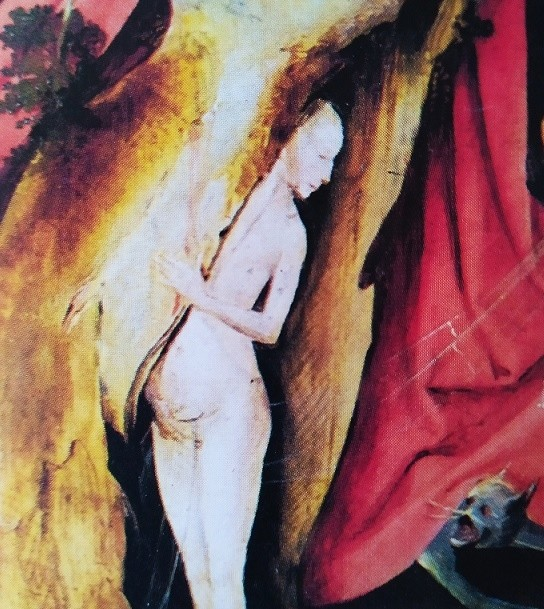 detail nude woman The Temptation of St Antony'