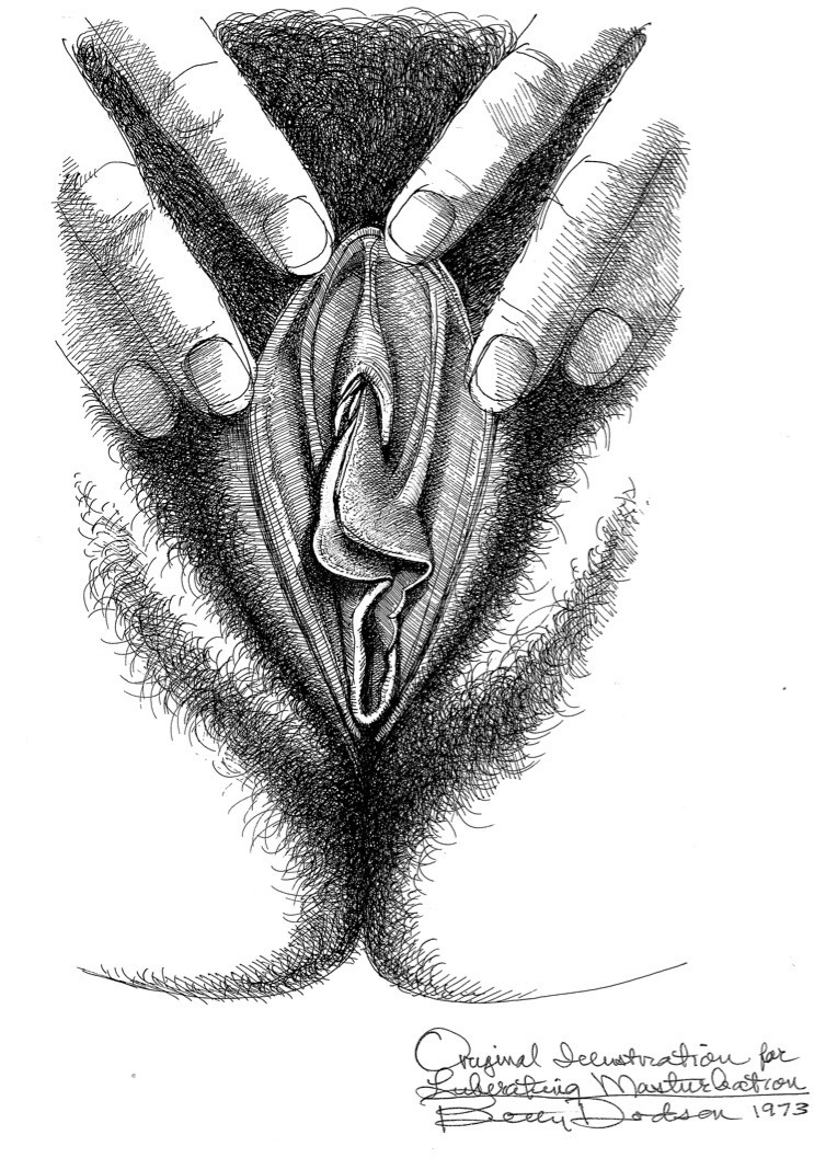 caressing vagina with two hands by betty dodson