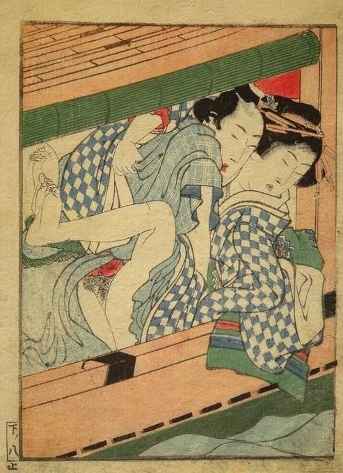 pleasure boat hokusai