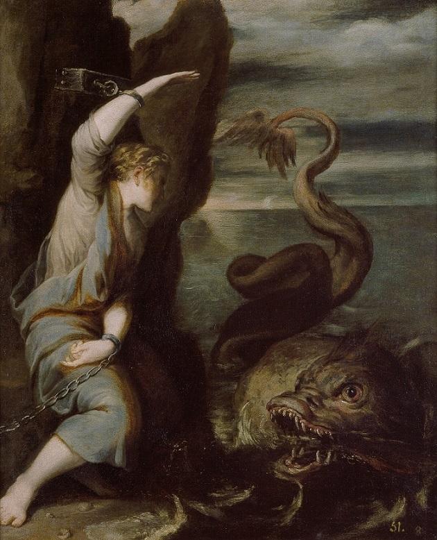 Andromeda by Juan Antonio de Frías y Escalante
